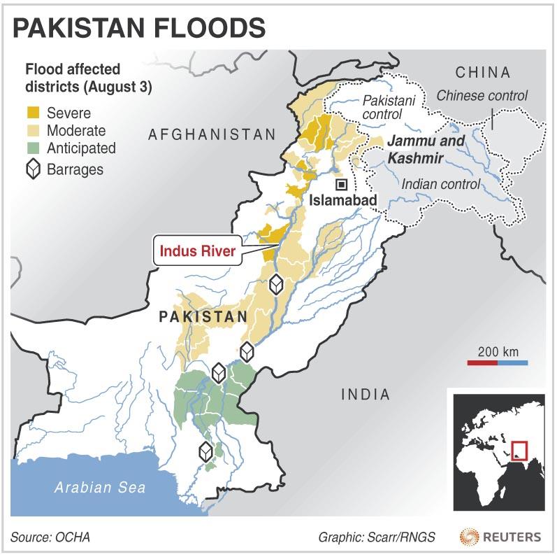 essays on floods in pakistan 2010