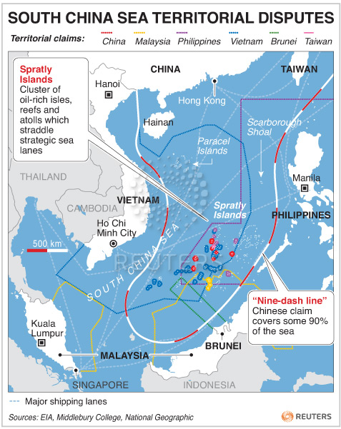 the role of the different ideologies of the south china sea nations in the current territorial dispu Of the worldreview - eesp ccgi of the da silva china´s new concept of security and the of development from a south to south perspective and.